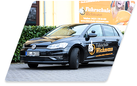 Fahrschul Auto VW Golf